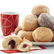 Kara Sugared Jam Doughnuts